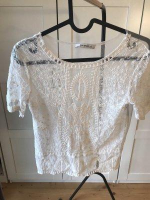 Zara Netshirt wit