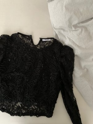 Zara Blouse en dentelle noir
