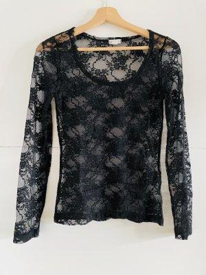 Zenana Outfitters Camicetta a maniche lunghe nero