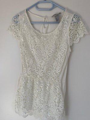 H&M Camicia maglia bianco