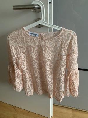 BSB Collection Kanten blouse rosé-lichtroze