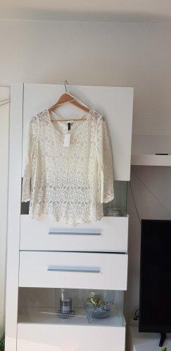 H&M Sports Shirt white-cream