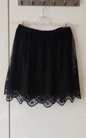 H&M Divided Gonna di pizzo nero