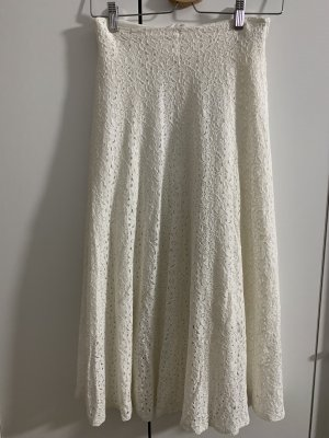 Lace Skirt natural white