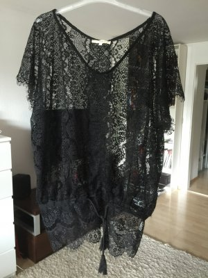 Spitzen Shirt Tunika Carmen Ärmel von An´ge Paris NEU Gr. 38-40