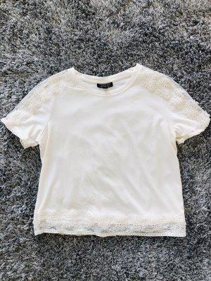 Spitzen-Shirt von Topshop