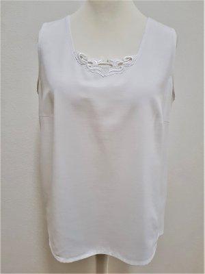 tru Koronkowy top biały