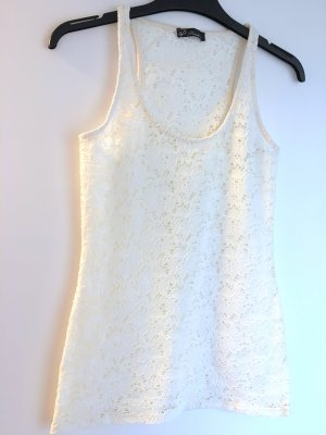 Pimkie Top cut-out bianco sporco