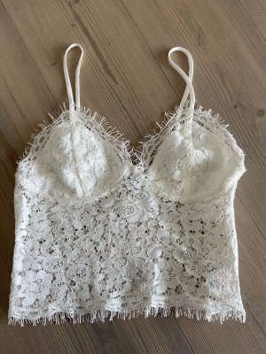 Corsage Top natural white
