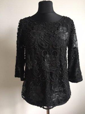 Hallhuber Basic Top black polyester