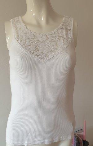Ralph Lauren Haut en crochet blanc