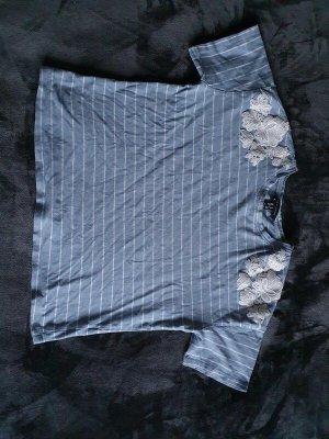 New Look T-shirt blu fiordaliso Cotone