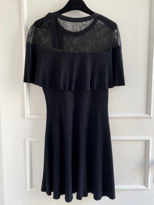 Spitzen Valentino Kleid in schwarz