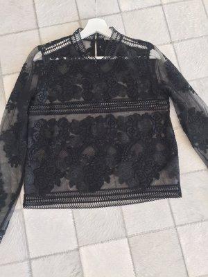 Marella Lace Blouse black