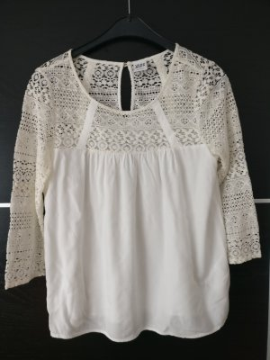 Vero Moda Lace Blouse natural white