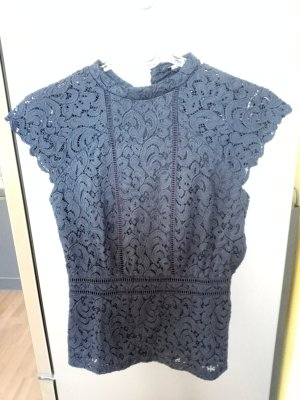 Orsay Lace Top dark blue