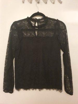 Soaked Koronkowa bluzka czarny