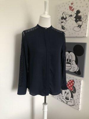 H&M Koronkowa bluzka Wielokolorowy