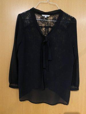 Review Koronkowa bluzka ciemnobrązowy