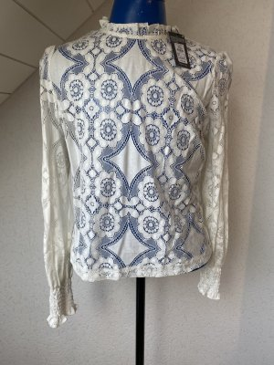 Atmosphere Blusa in merletto crema