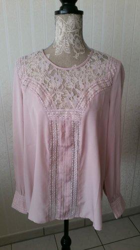 lykkelig Lace Blouse pink-light pink