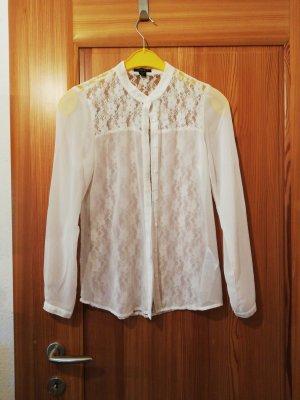 Amisu Lace Blouse white