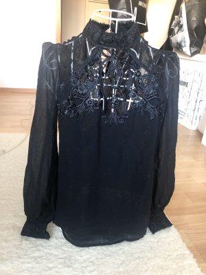 Lipsy Kanten blouse zwart