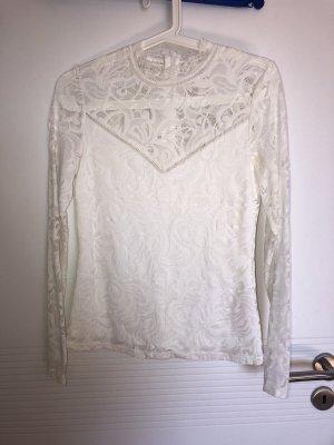 Zalando Blusa in merletto bianco