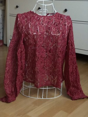 Mango Lace Blouse multicolored