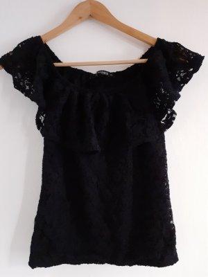 Colloseum Lace Blouse black