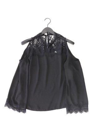 Kanten blouse zwart Polyester