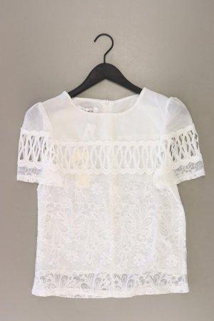 Kanten blouse wolwit Polyester