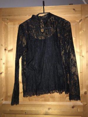 Amisu Lace Blouse black