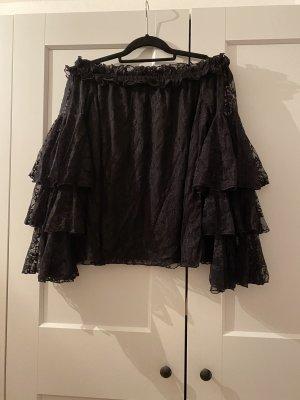 Asos Kanten blouse zwart