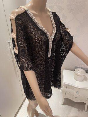 Spitzenbluse shirt einheitsgrõsse Laura Jane paris neu ohne Etikett