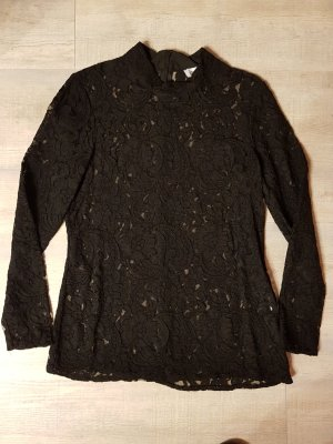 Closet Blusa in merletto nero