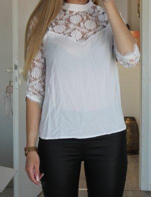 Vila Koronkowa bluzka biały