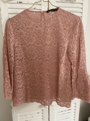 Zara Lace Blouse rose-gold-coloured