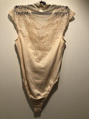 Charro Bodysuit Blouse nude