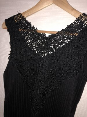 Only Blusa tipo body negro