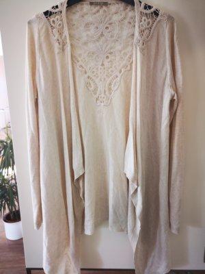 Orsay Cardigan en crochet beige clair