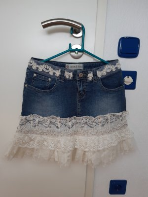 Rosa & Rose Lace Skirt multicolored