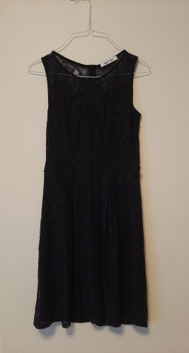 About You Lace Dress dark blue lace