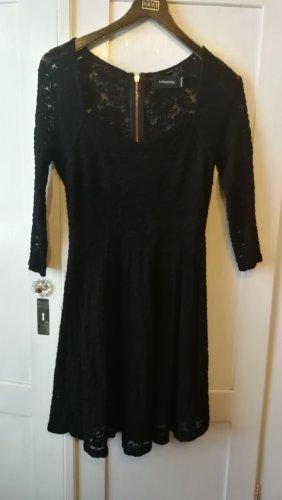 Minkpink Vestido a media pierna negro
