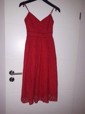 Amisu Lace Dress red