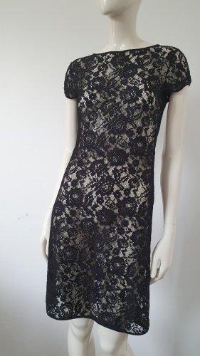 Bea Tricia Koronkowa sukienka czarny