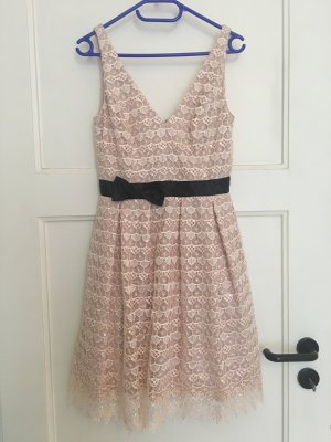 cinderella Lace Dress black-pink