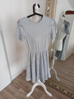 Asos Lace Dress azure