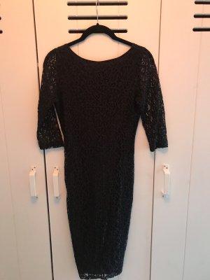 Asos Petite Kanten jurk zwart