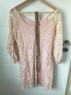 Lace Dress pink-dusky pink